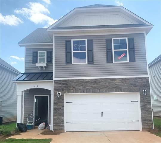 316 Phillips Drive, Pendleton, SC 29670 (MLS #20239234) :: Tri-County Properties at KW Lake Region