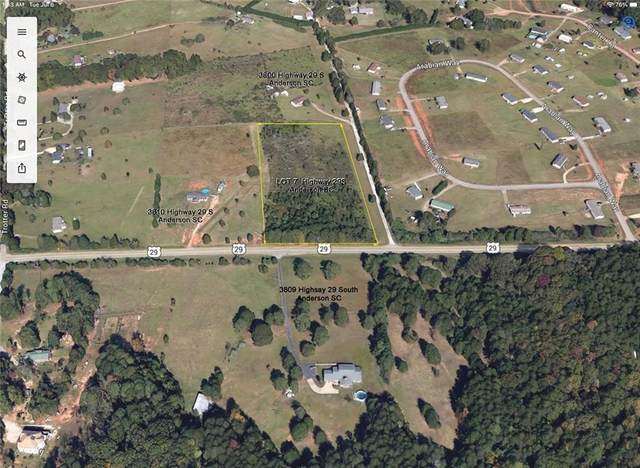 lot 7 S 29 Highway, Anderson, SC 29626 (MLS #20240084) :: The Powell Group