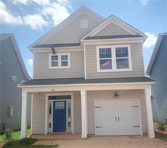 314 Phillips Drive, Pendleton, SC 29670 (MLS #20242171) :: Tri-County Properties at KW Lake Region