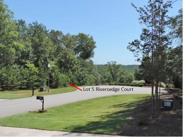 Lot 5 Riversedge Court, Seneca, SC 29672 (MLS #20191656) :: The Powell Group