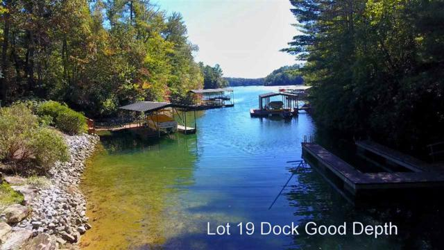 Lot 19 Keowee Bay, Salem, SC 29676 (MLS #20192893) :: Les Walden Real Estate