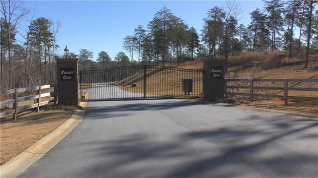 Lot 13 Sunset Cove, West Union, SC 29696 (MLS #20194289) :: The Powell Group of Keller Williams