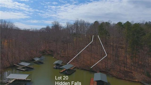 Lot 20 Hidden Falls, West Union, SC 29696 (MLS #20195919) :: The Powell Group of Keller Williams