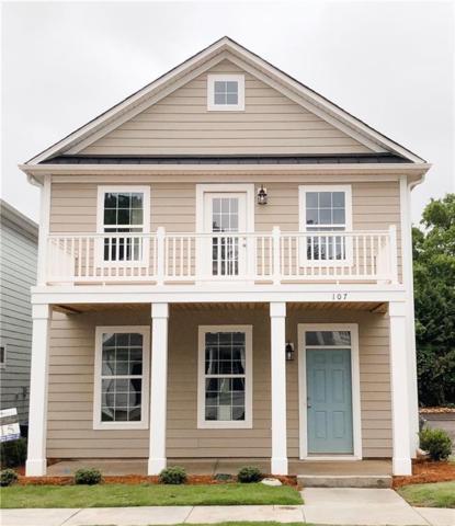 107 Fuller Estate Drive, Clemson, SC 29631 (MLS #20207744) :: Les Walden Real Estate