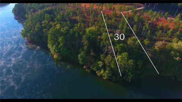 Lot 30 Cove Harbor, Six Mile, SC 29682 (MLS #20209107) :: The Powell Group of Keller Williams