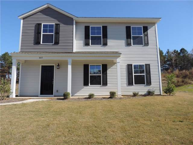 887 Louie Lane, Seneca, SC 29678 (MLS #20214891) :: Tri-County Properties at KW Lake Region