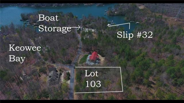 Lot 103 Keowee Bay, Salem, SC 29676 (#20214996) :: Connie Rice and Partners