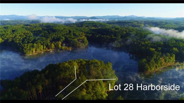 Lot 28 Harborside, Six Mile, SC 29682 (#20222236) :: Connie Rice and Partners