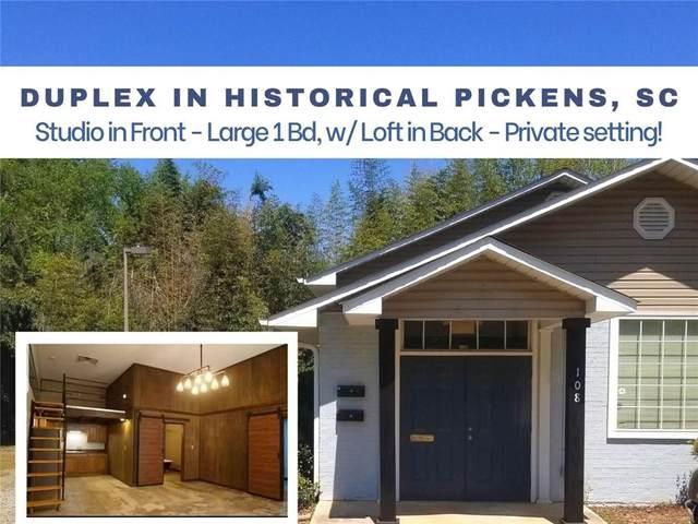 108 W Baker Street, Pickens, SC 29671 (MLS #20238432) :: Les Walden Real Estate
