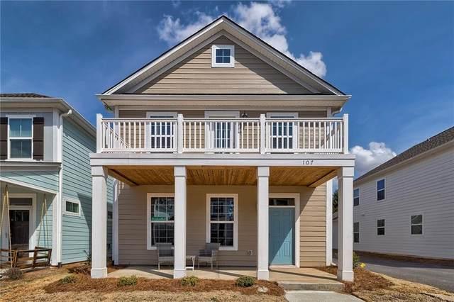 107 Fuller Estate Drive, Clemson, SC 29631 (MLS #20207744) :: The Powell Group