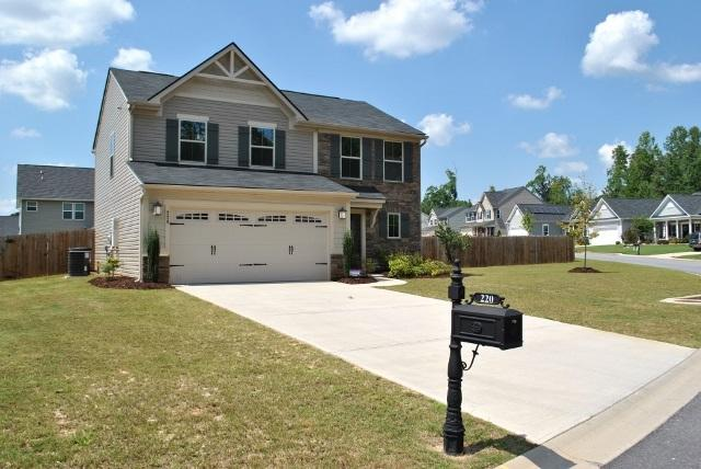 220 Creekside Way, Easley, SC 29642 (MLS #20191263) :: Tri-County Properties