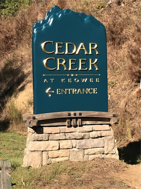 0 Cedar Creek Drive, Sunset, SC 29685 (MLS #20209124) :: Les Walden Real Estate