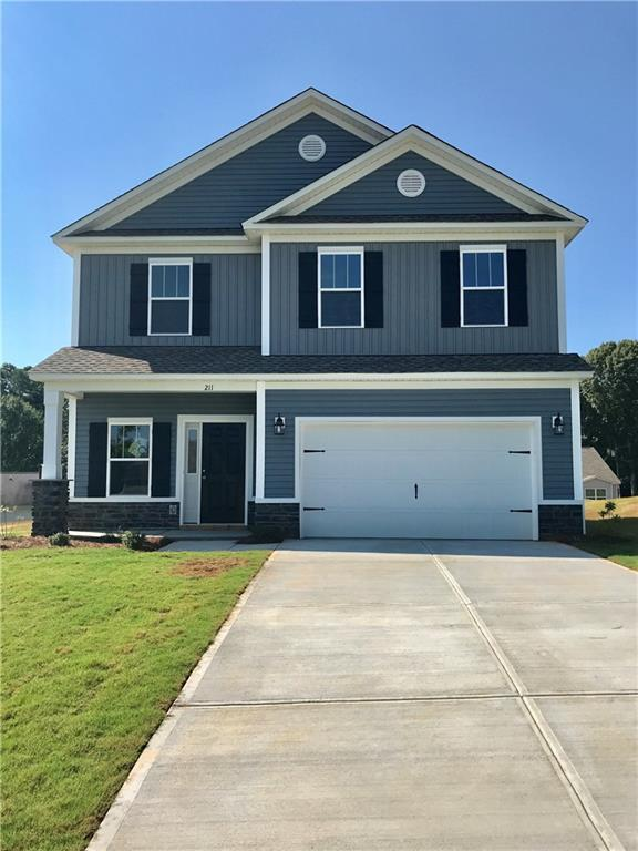 211 Sunny Point Loop, Central, SC 29630 (MLS #20219727) :: Les Walden Real Estate