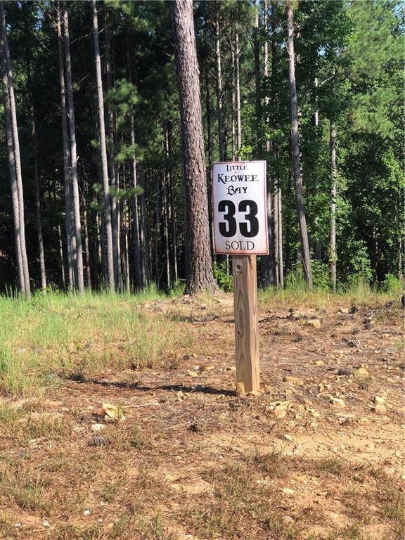 000 Bayside Dr/ Lot 33 Little Keowee Bay, West Union, SC 29696 (MLS #20221036) :: The Powell Group