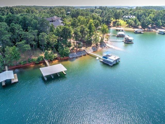 Tract B & Lot 10 Fisherman's Club Drive, Anderson, SC 29626 (MLS #20226105) :: Prime Realty
