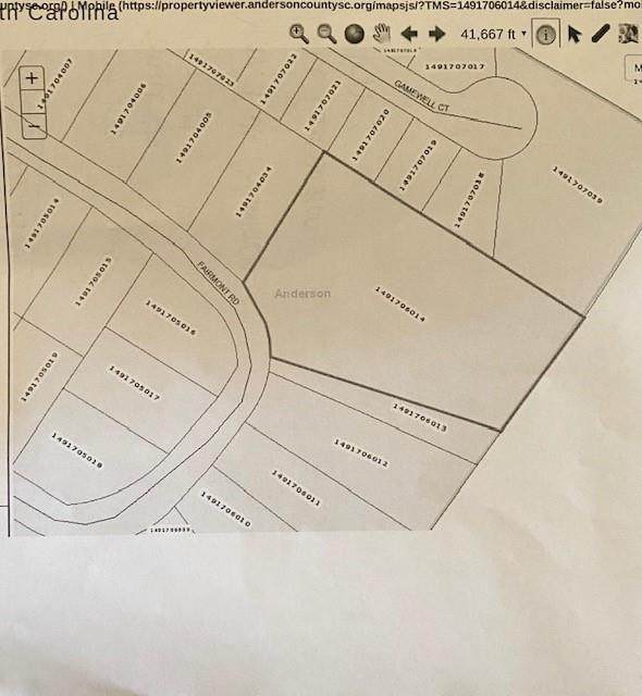 Lot Fairmont Road, Anderson, SC 29621 (MLS #20229205) :: The Powell Group