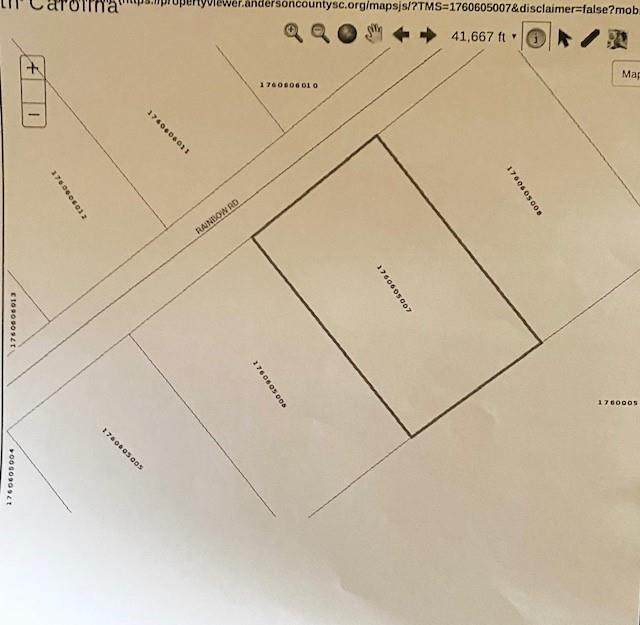 Lot 137 Rainbow Road, Anderson, SC 29621 (#20229206) :: DeYoung & Company