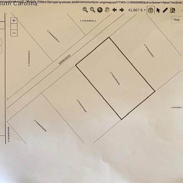 Lot 136 Rainbow Road, Anderson, SC 29621 (#20229208) :: DeYoung & Company
