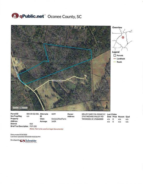 331 George Todd Road, Tamassee, SC 29686 (MLS #20231467) :: The Powell Group
