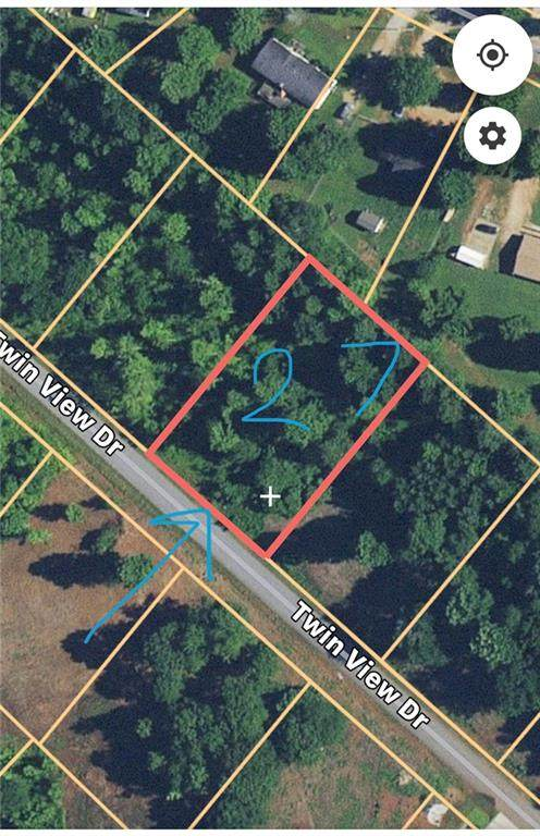 LOT 27 Twin View Drive, Westminster, SC 29693 (#20231600) :: J. Michael Manley Team
