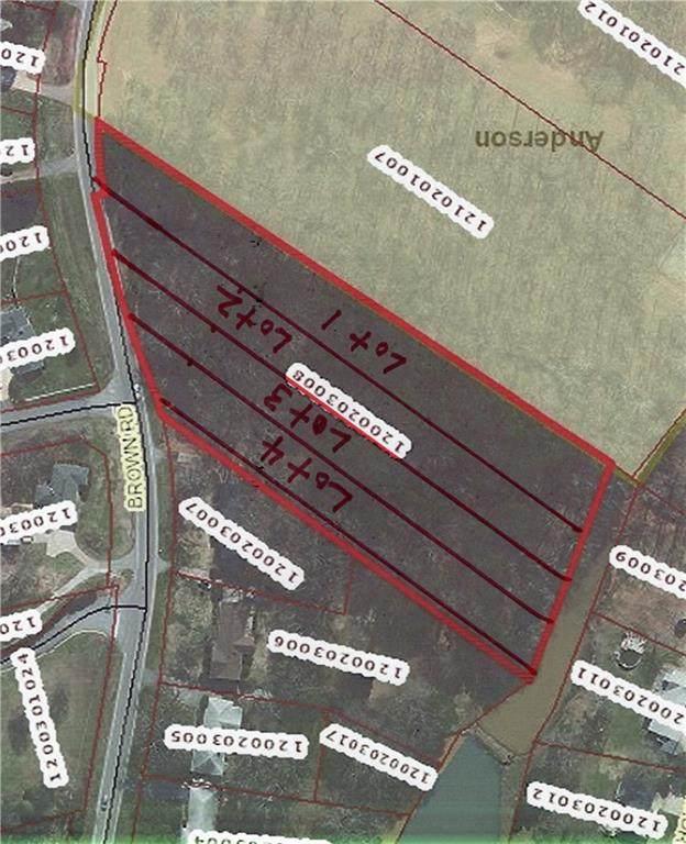 0 Brown Road, Anderson, SC 29621 (MLS #20240500) :: Tri-County Properties at KW Lake Region