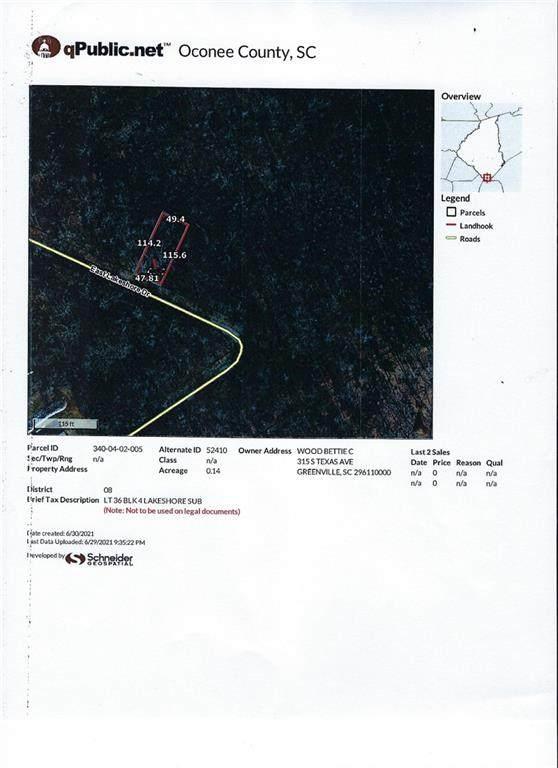00 E Lakeshore Drive, Fair Play, SC 29643 (MLS #20241260) :: Tri-County Properties at KW Lake Region