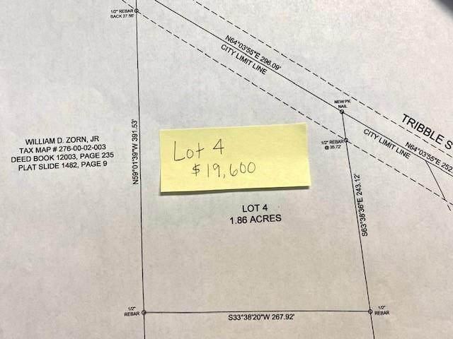 Lot 4 Tribble Street, Honea Path, SC 29654 (MLS #20244606) :: The Powell Group