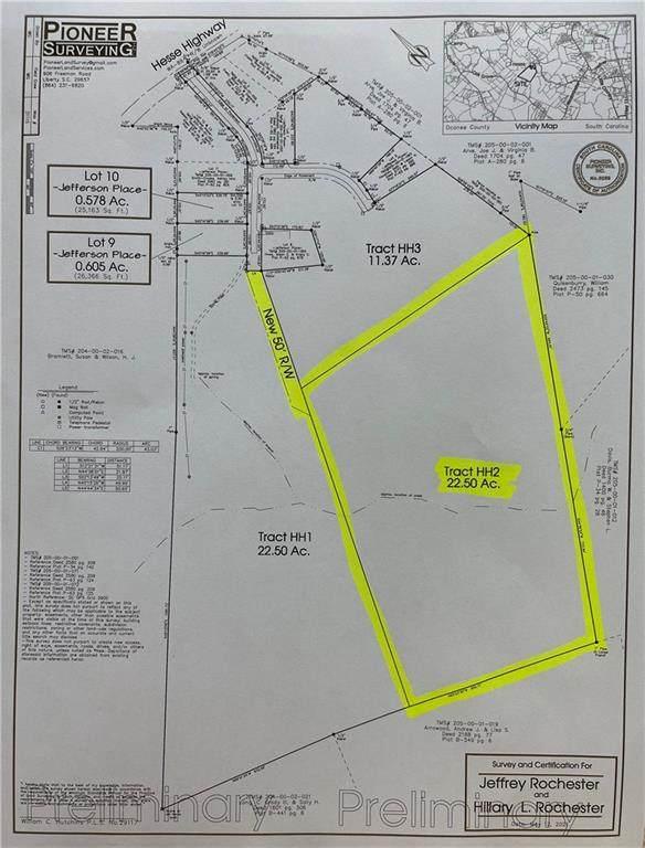 00 Hesse Highway, Walhalla, SC 29691 (MLS #20244802) :: Les Walden Real Estate