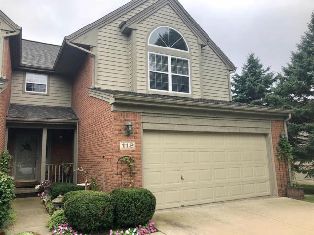 112 Village Place Drive #12, Chelsea, MI 48118 (MLS #3260267) :: The Toth Team