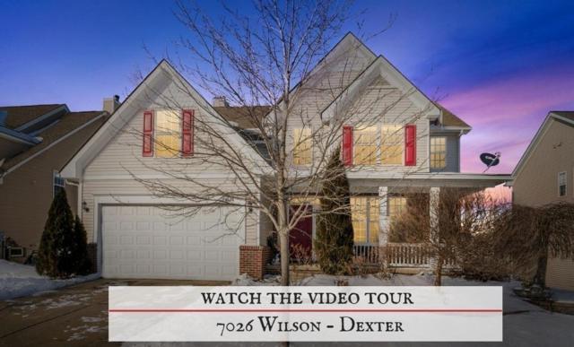 7026 Wilson Drive, Dexter, MI 48130 (MLS #3262820) :: The Toth Team