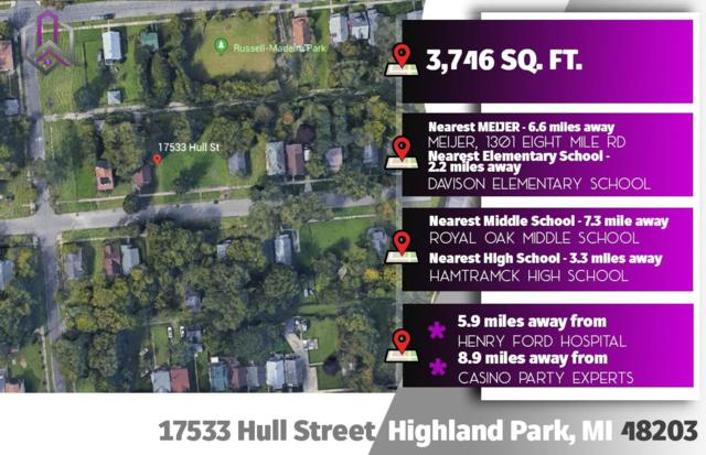 17533 Hull Street, Highland Park, MI 48203 (MLS #3264693) :: The Toth Team