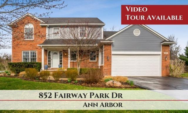 852 Fairway Park Drive, Ann Arbor, MI 48103 (MLS #3264732) :: The Toth Team