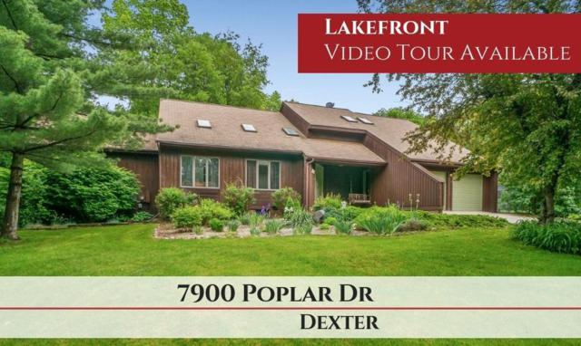 7922 Poplar Drive, Dexter, MI 48130 (MLS #3266212) :: Tyler Stipe Team | RE/MAX Platinum