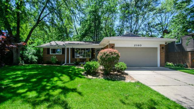 2160 Steeplechase Drive, Ann Arbor, MI 48103 (MLS #3267086) :: The Toth Team
