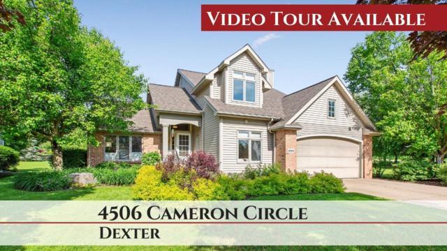 4506 Cameron Circle, Dexter, MI 48130 (MLS #3267213) :: Berkshire Hathaway HomeServices Snyder & Company, Realtors®