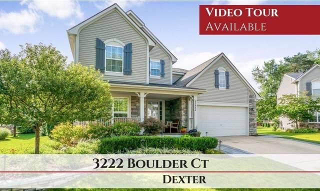 3222 Boulder Court, Dexter, MI 48130 (MLS #3268233) :: Tyler Stipe Team | RE/MAX Platinum