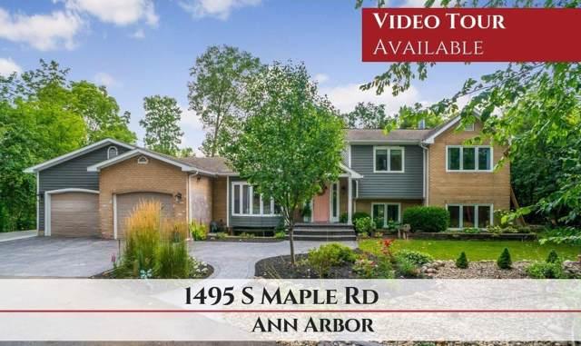 1495 S Maple Road, Ann Arbor, MI 48103 (MLS #3268248) :: The Toth Team