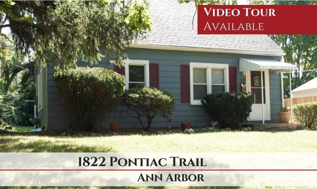 1822 Pontiac Trail, Ann Arbor, MI 48105 (MLS #3268254) :: The Toth Team