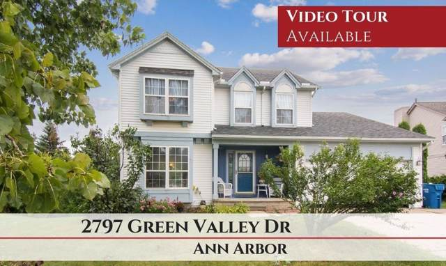 2797 Green Valley Drive, Ann Arbor, MI 48103 (MLS #3268814) :: The Toth Team