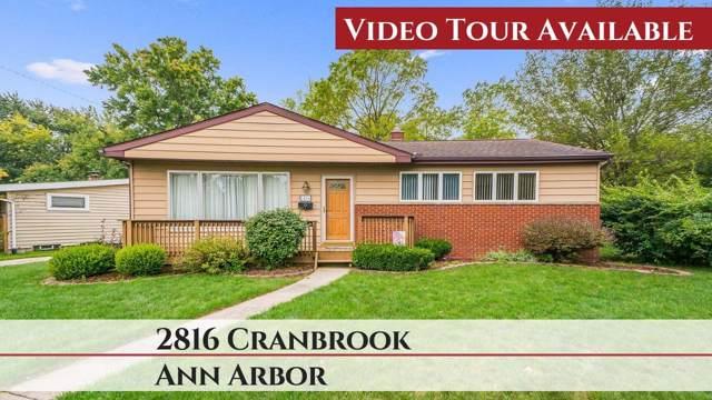 2816 Cranbrook Road, Ann Arbor, MI 48104 (MLS #3268885) :: The Toth Team