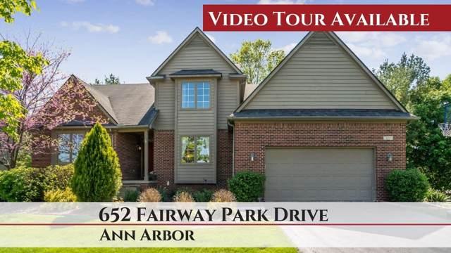 652 Fairway Park Drive, Ann Arbor, MI 48103 (MLS #3269032) :: The Toth Team