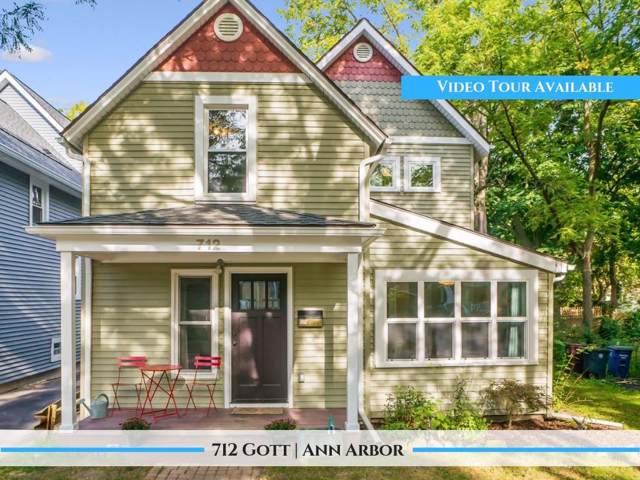 712 Gott Street, Ann Arbor, MI 48103 (MLS #3269302) :: The Toth Team