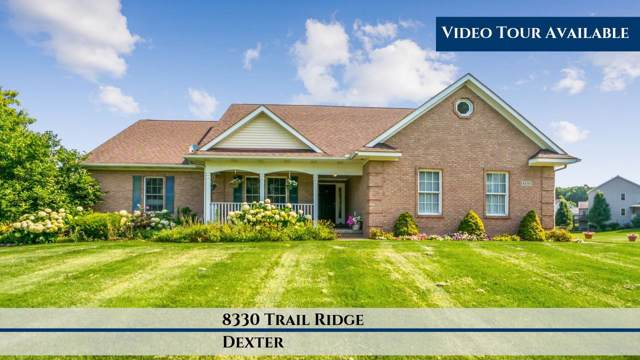8330 Trail Ridge, Dexter, MI 48130 (MLS #3269526) :: The Toth Team