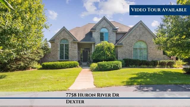 7758 Huron River Drive, Dexter, MI 48130 (MLS #3269527) :: The Toth Team