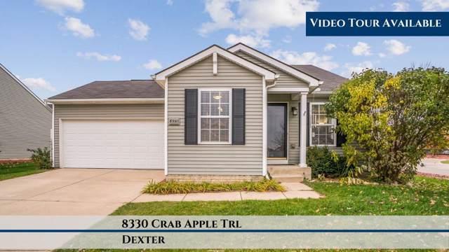8330 Crab Apple Trail, Dexter, MI 48130 (MLS #3269856) :: The Toth Team
