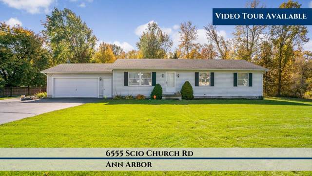 6555 Scio Church Road, Ann Arbor, MI 48103 (MLS #3269902) :: The Toth Team