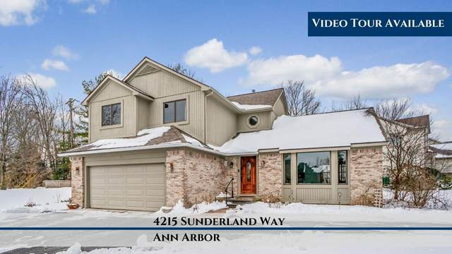 4215 Sunderland Way, Ann Arbor, MI 48103 (MLS #3270990) :: The Toth Team