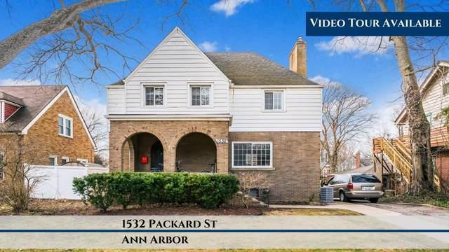 1532 Packard Street, Ann Arbor, MI 48104 (MLS #3271987) :: The Toth Team