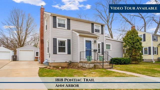 1818 Pontiac Trail, Ann Arbor, MI 48105 (MLS #3272153) :: The Toth Team
