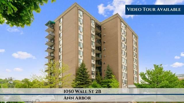 1050 Wall Street 2B, Ann Arbor, MI 48105 (MLS #3273339) :: Berkshire Hathaway HomeServices Snyder & Company, Realtors®